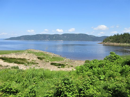 Saint-Félix-d'Otis, Canada: L'Anse-à-la-Croix, vue sur le Fjord, Site de la Nouvelle-France