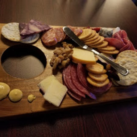Our signature charcuterie board