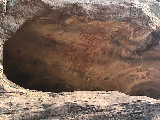 Another rock shelter and paintings