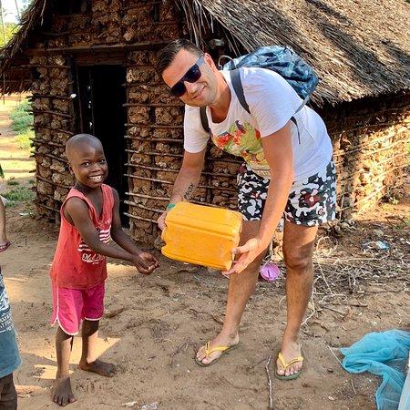 bambini nei villaggi