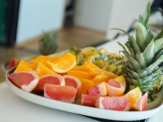 Always fresh fruit available