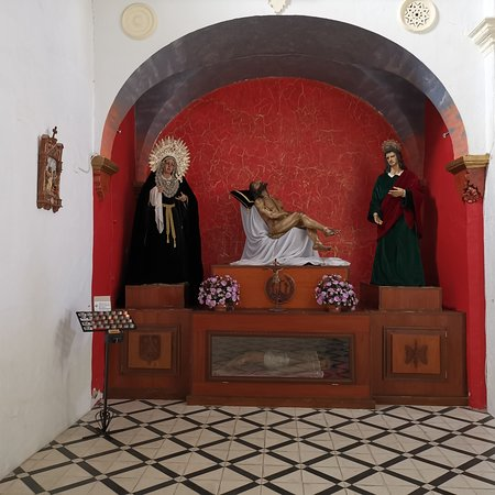 Escacena del Campo, Испания: Capilla, Iglesia del Divino Salvador.