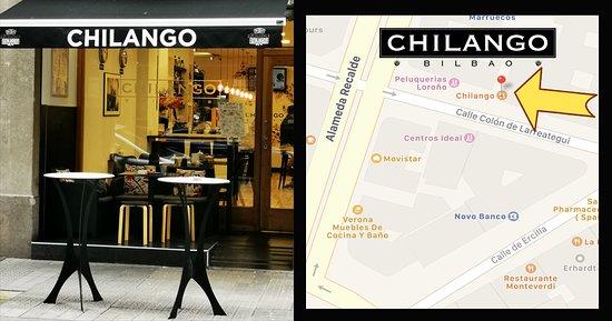 Chilango Bilbao, Colón de Larreátegui 34, Bilbao Bizkaia, 48009.