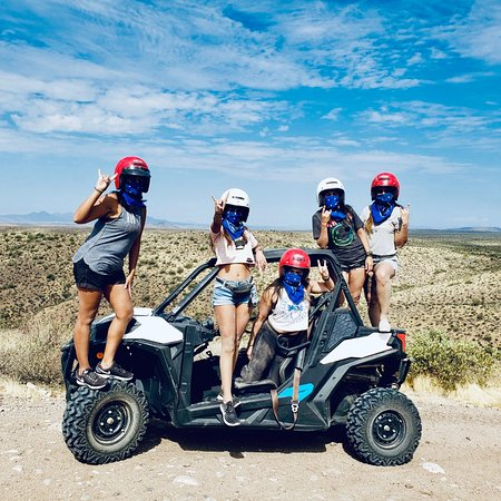 ATV & UTV guided tours thru the Tonto National Forest.  4 Tours daily including Arizona's best sunset ATV/UTV tour.   Close to Scottsdale & great low rates! www.desertmonsterstours.com