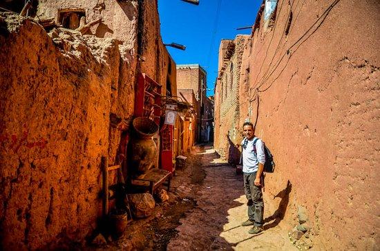 Hay pueblecitos en el mundo que pueden resultar trasladarte literalmente a otra dimensión. Ese es el caso de Abyaneh, un pueblo de intenso color adobe que nos ha dejado una de las mañanas más agradables del viaje.