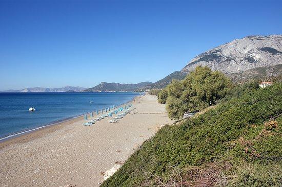 Samos, Grécko: plaża Votsalakia