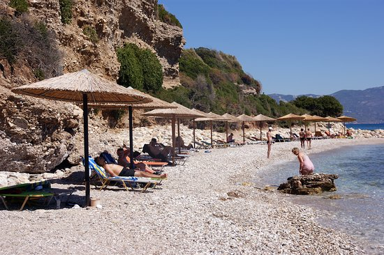 Samos, Grécko: Fournaki Beach