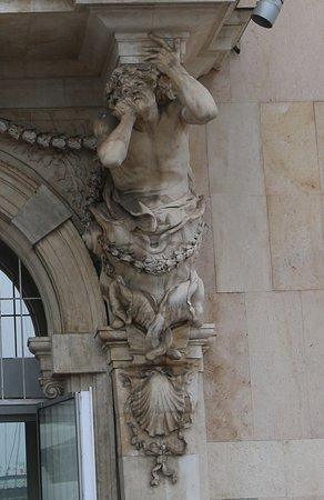 Détail de cette sculpture