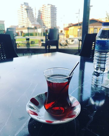 Wonderfull a place for rest and try to Turkish tea and Turkish coffee