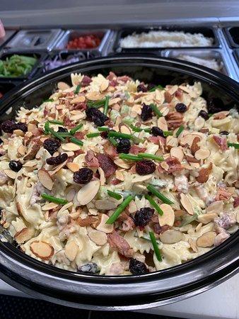 Craisin almond pasta salad - party size