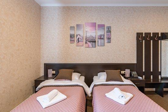 номер ля деловых людей с двумя и тремя раздельными кроватями
