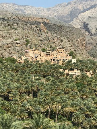 Misfah and its oasis