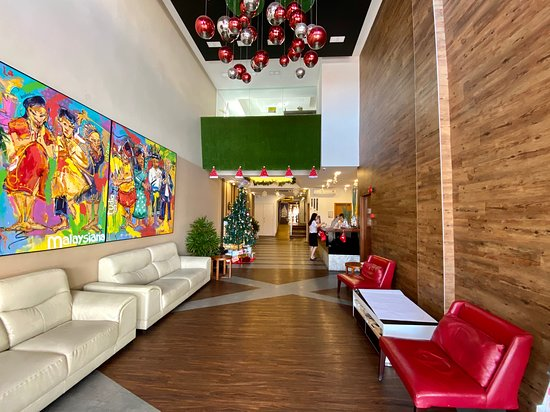 View of lobby.