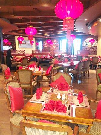 Dragon's Fi Chinese Restaurant interior