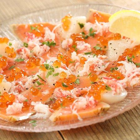 海鮮の贅沢カルパッチョ