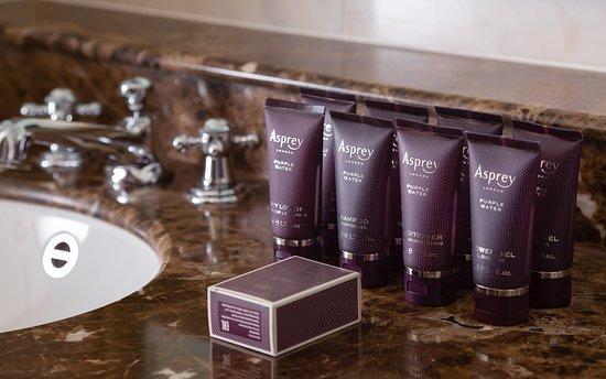 Asprey bath amenities