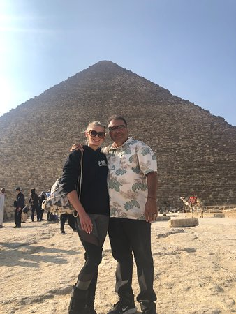 Giza, Mısır: Thank you  Maged as a guide for  Emo tours Really appreciate it. 10star guide !!!