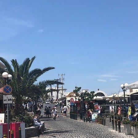 Santorini, Yunani: Fira