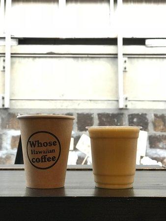 コーヒーとミックスジュース Coffee and Mix Fruits Juice