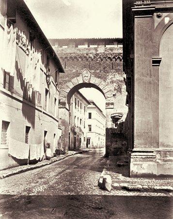 Il passetto di Borgo - Roma sparita