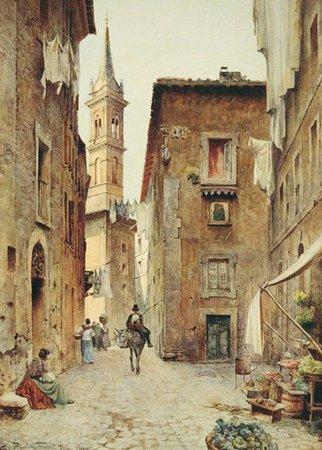 Un dipinto di Borgo