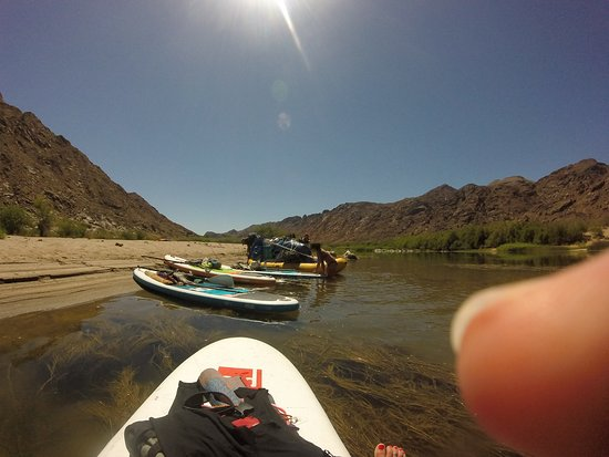 Orange River SUP & Yoga Expedition, for wild at heart women: Lets rest