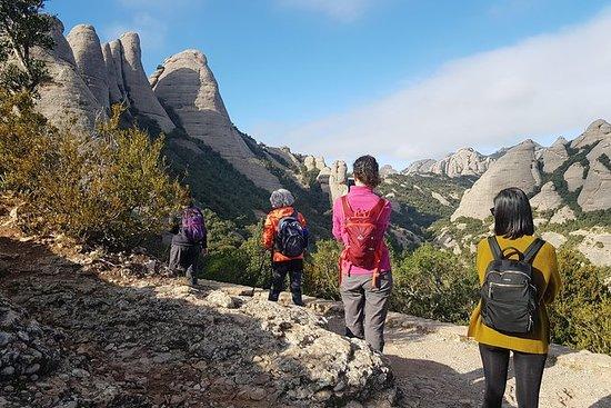 Escursione a Montserrat in cima al
