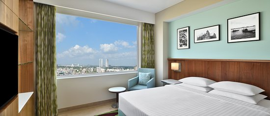 Our Executive rooms boast of great views of the New Town lawns and the Biswa Bangla Archway. With every amenity you need to make the most out of your trip, our modern furnishings and signature Fairfield comfort will leave you rested, relaxed and ready for each day.
