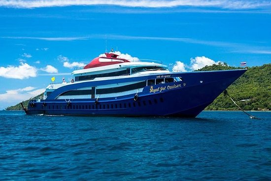 Phi Phi-eilanden Tour eerste klasse ...