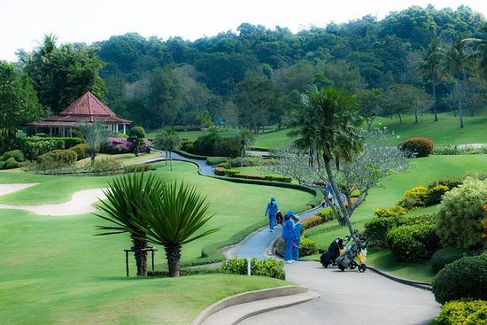 Golfclub bij Phuket Country Club