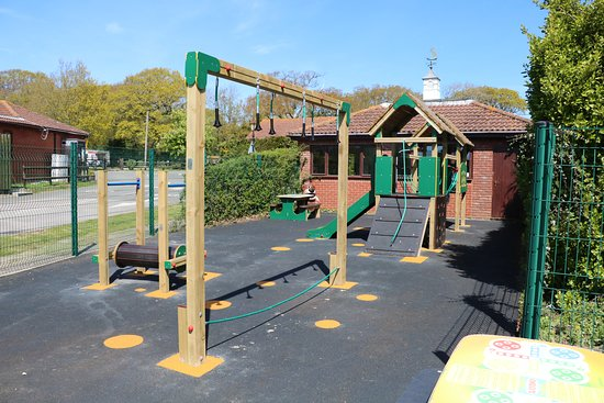 Play area at Lytton Lawn, located next to the games room near reception.