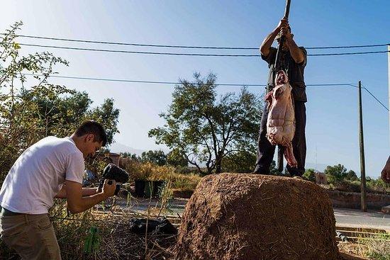 马拉喀什柏柏尔村全烤羊肉