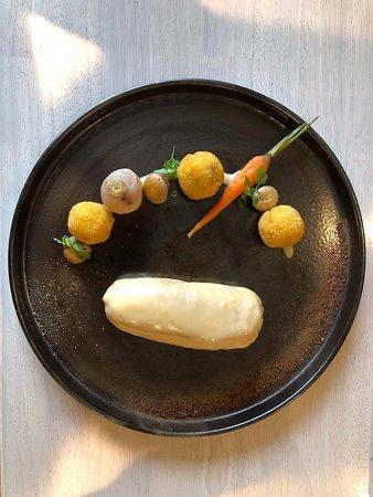 Volaille façon poule au pot, légumes de saison