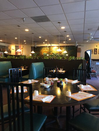 Boca Raton, FL: We have lots of indoor seating