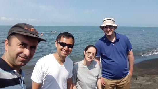 British tourists visiting Georgia