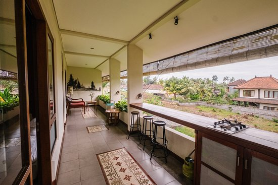 Balcony connected to Kitchen in Two Bedroom Family