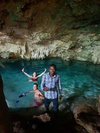 In kuza cave Jambiani