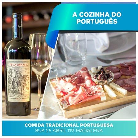 Fazemos as melhores combinações possíveis para que a sua satisfação esteja garantida! 👌 A melhor gastronomia portuguesa diariamente por si e para si! 😊 #ACozinhadoPortugues . . . #CozinhaTradicional #ComidaPortuguesa #Restaurantes #RestaurantesGaia #VilaNovadeGaia #Gaia #Almoço #Jantar #Reservas #Madalena