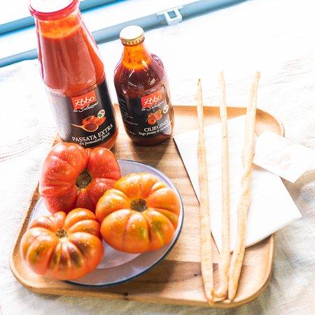 Tomates exclusivos y salsas italianas para llevara casa y cocinar al instante. Nueva tienda Cripeka de productos italianos.