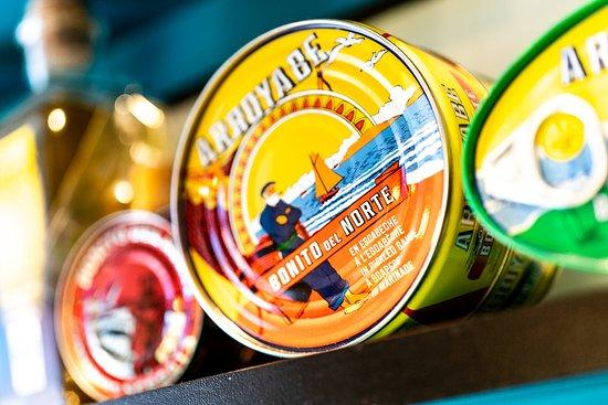 Las mejores anchoas y bonito del Norte. En nuestra tienda Gourmet de @Cripeka.