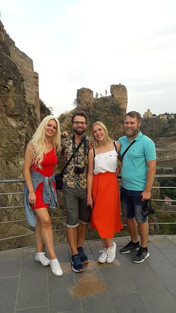 Lithuanian tourists visiting Georgia