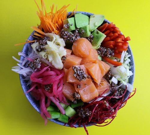 Norwegian Salmon Poke Bowl
