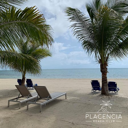 Enjoy the best kept beach in Placencia.