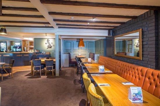 Beefeater restaurant interior