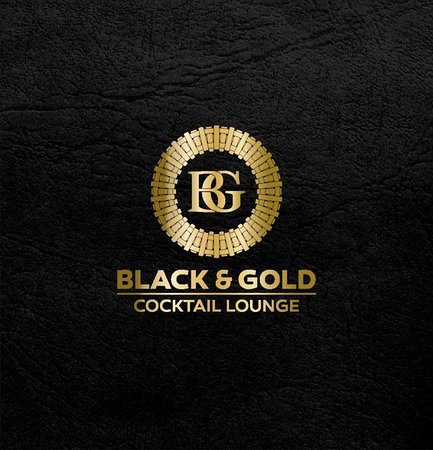 Black & Gold Cocktail Lounge Fethiye