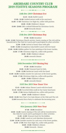 Aberdare Christmas offer