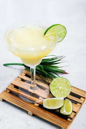 Our very own Frozen Lime Margarita!