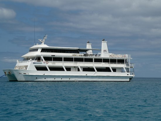 Coral Expeditions II: this is the ship