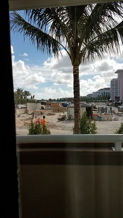 Construction near East Wing at Melia
