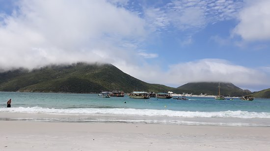 Boat Trip via Saveiro Don Juan Arraial do Cabo Tour: Ilha do Farol